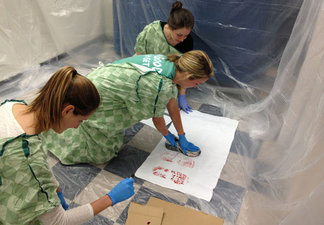 Students Act as CSI-type Forensic Investigators, Medical