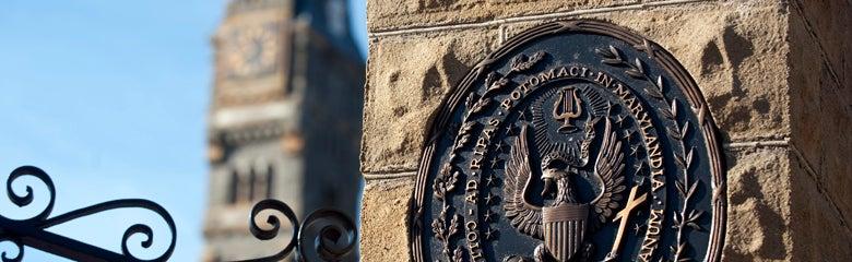 Georgetown Gate against a blue sky