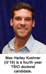 Max Harley Kushner is a fourth year TBIO doctoral candidate