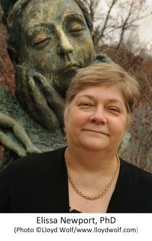 Image of Franklin Institute Award winner Elissa Newport