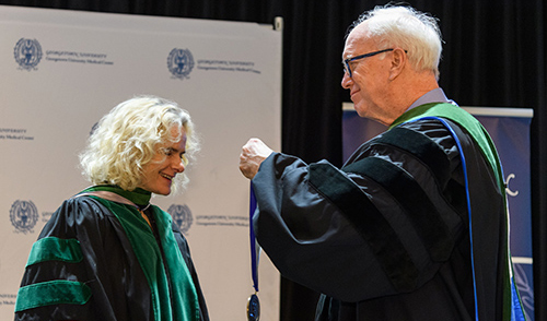 Noral Volkow and Dr. Ed Healton