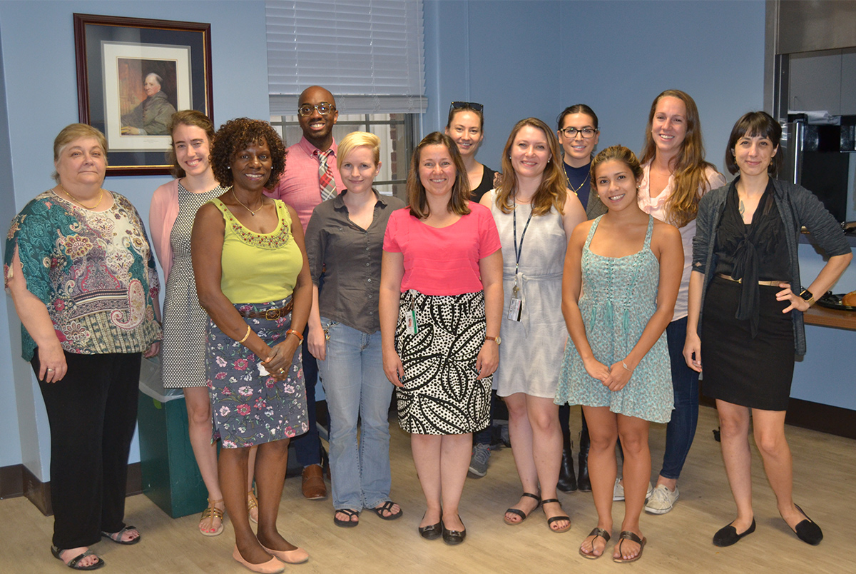 The Georgetown University Postdoctoral Association hosted an annual welcome event for new and returning postdoctoral fellows, which included an information session and a reception with faculty and staff.