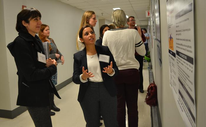 PhD students across Georgetown University Medical Center (GUMC) showcase their research at Student Research Day 2018.