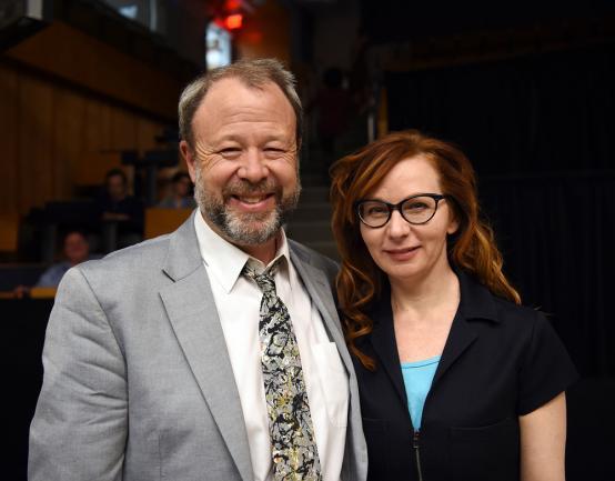 Bill Rebeck, PhD, MFA, and Susan Lynskey, MFA