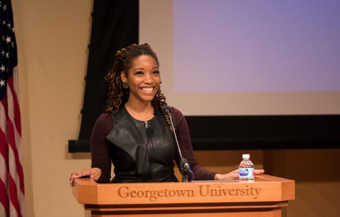 LaTasha Seliby, MD, assistant professor in family medicine at Georgetown