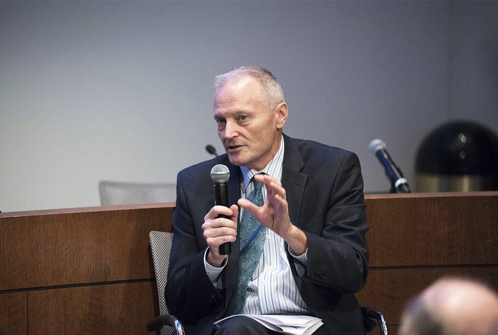 Dr. John Marshall speaks