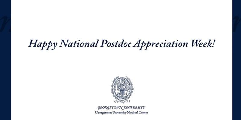 Happy National Postdoc Appreciation Week