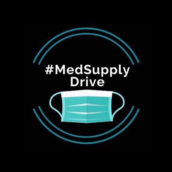 #MedSupplyDrive with graphic