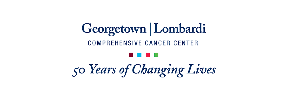 Georgetown Lombardi logo with the tagline 50 Years of Changing Lives