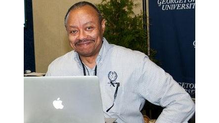 Rafael Terranus at a computer